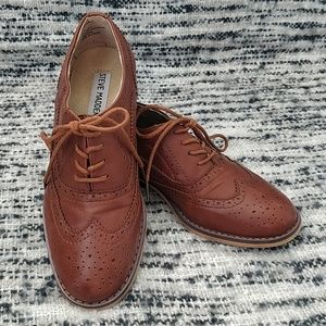 Steve Madden Leather Brogues